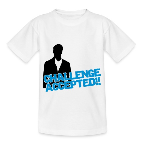 Challenge accepted!! - Teenage T-Shirt