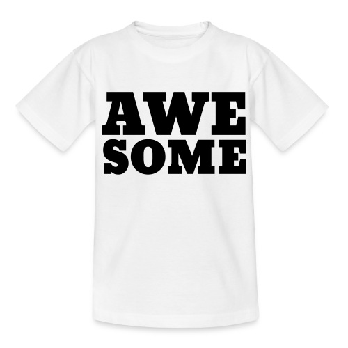 Awesome - Teenage T-Shirt