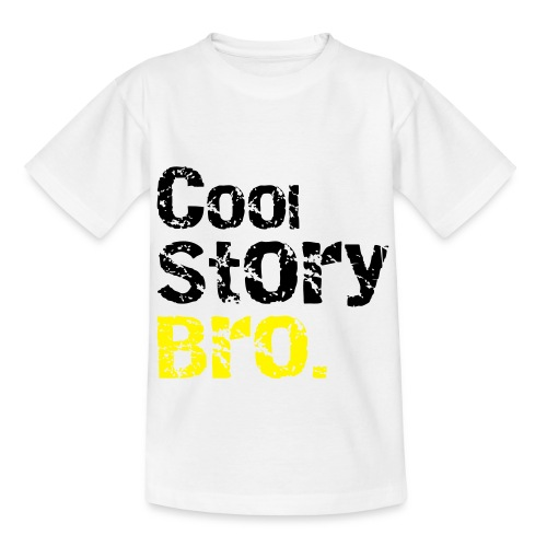 Cool story bro (YELLOW) - Teenage T-Shirt