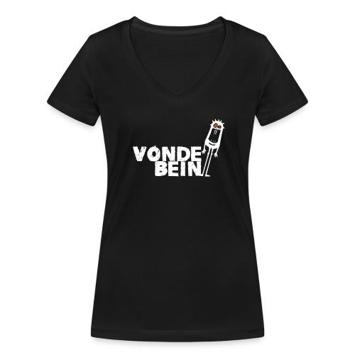T-skjorte med V-utsnitt for kvinner - Økologisk T-skjorte med V-hals for kvinner fra Stanley & Stella