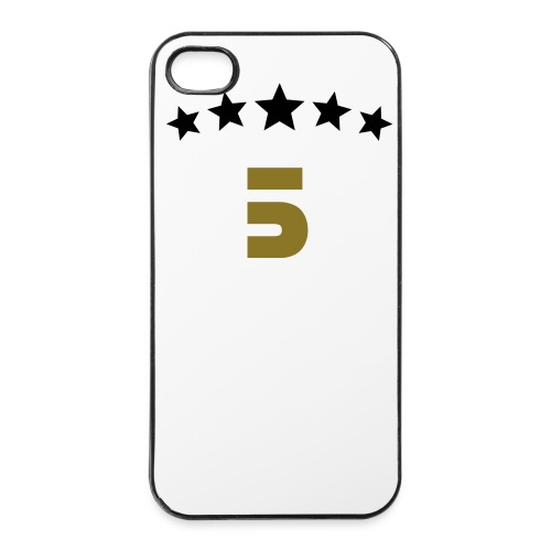5 star gold edition - Hårt iPhone 4/4s-skal