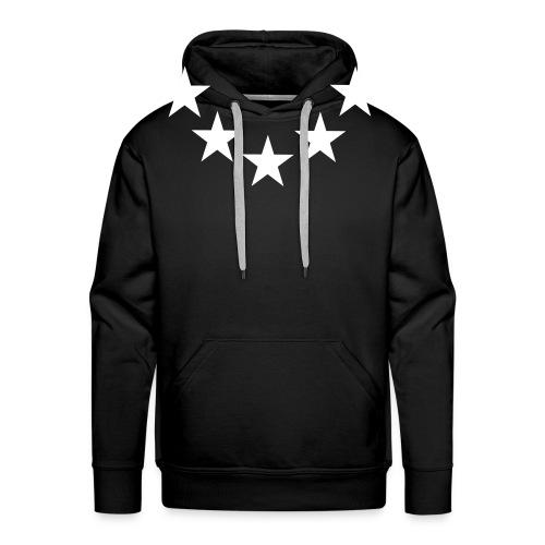 mannen sweater sterren - Mannen Premium hoodie