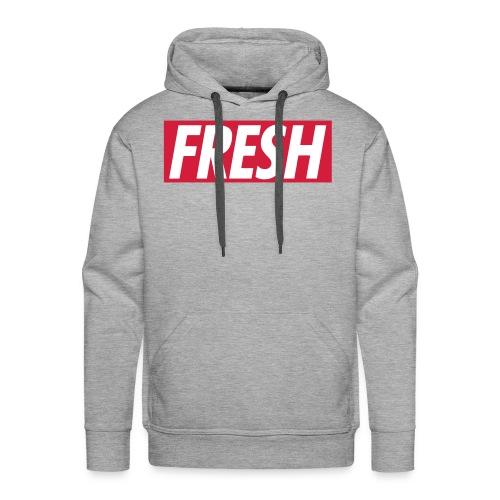 Fresh Pullover - Männer Premium Hoodie
