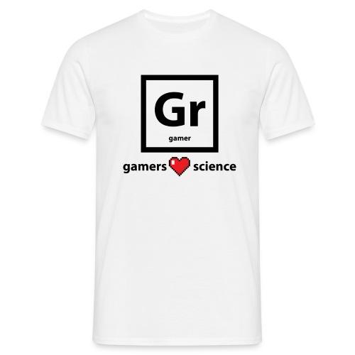 Gamers Science - Men's T-Shirt