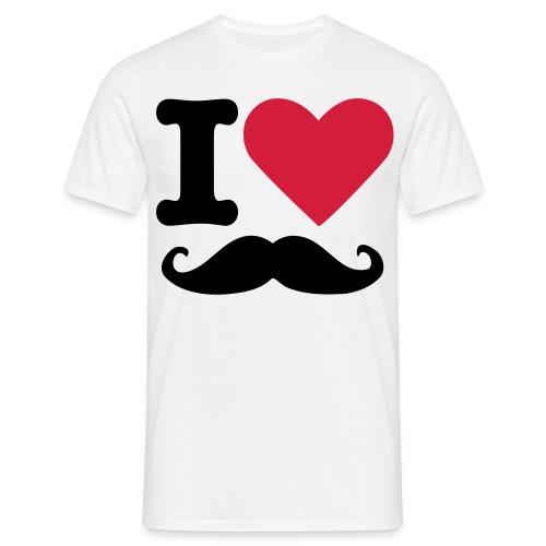 I love T-Shirt - T-shirt herr