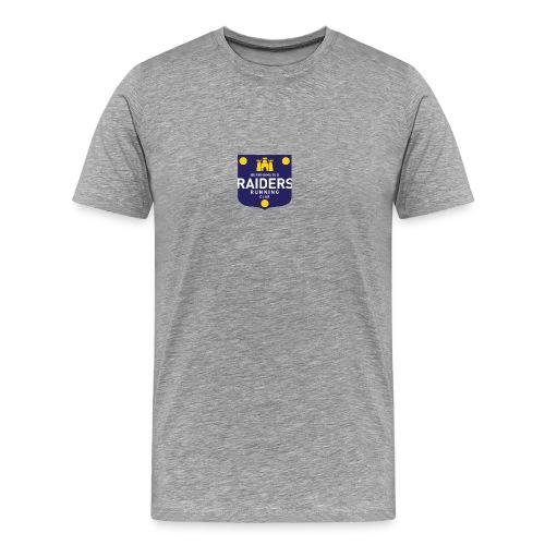 Raiders Regular Mens T Centre logo - Men's Premium T-Shirt