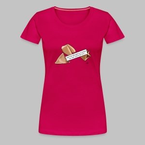 T-shirt femme (woman) Fortune cookie - Women's Premium T-Shirt