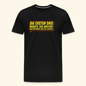 Winter, Biggie - Männer Premium T-Shirt