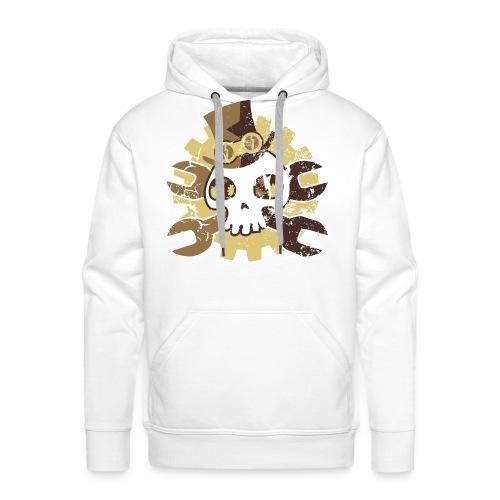 Puccilicious Skull Hoodie Kapuzenpullover - Männer Premium Hoodie