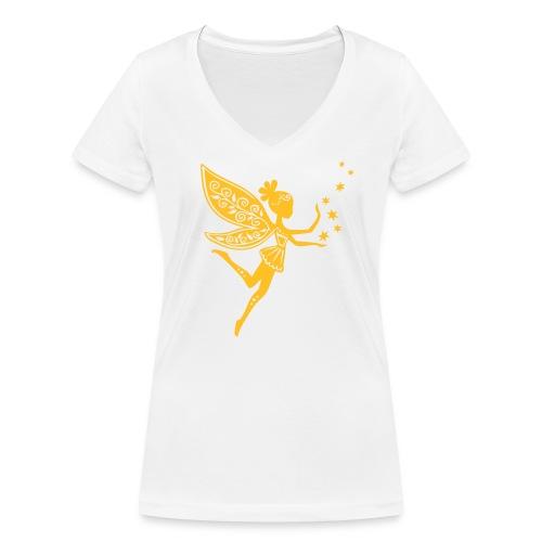 Trilli - T-shirt ecologica da donna con scollo a V di Stanley & Stella