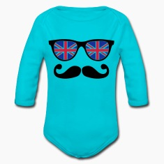 english mustache glasses nerd - like a sir Hoodies