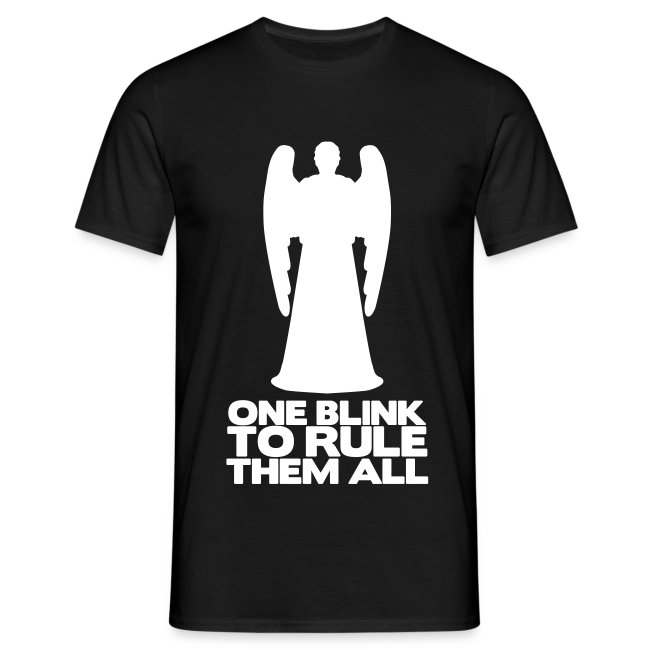 "Camiseta chico ""One blink to rule them all"""