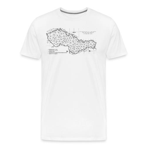 CSSR Astrogeodetic Network - Men's Premium T-Shirt