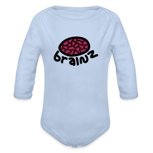 Baby Brainz - Organic Longsleeve Baby Bodysuit