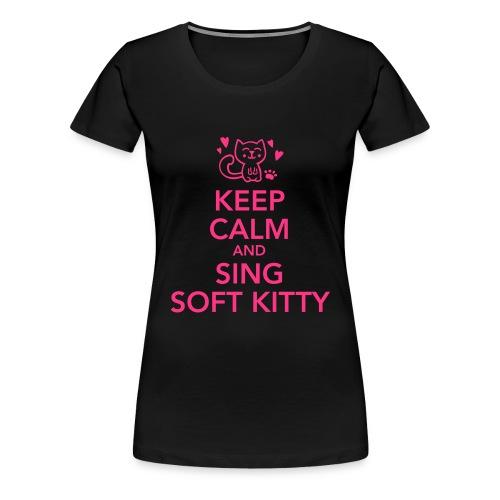 Kitty song - Dame premium T-shirt