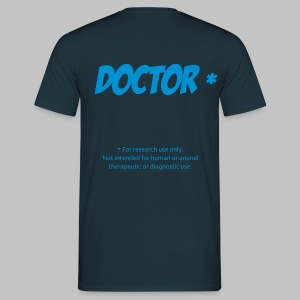 T-shirt homme (man) Doctor - Men's T-Shirt