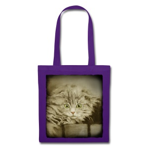 Sac shopping - chaton norvégien - Tote Bag