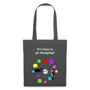 Sac shopping - chatons horloge - Tote Bag