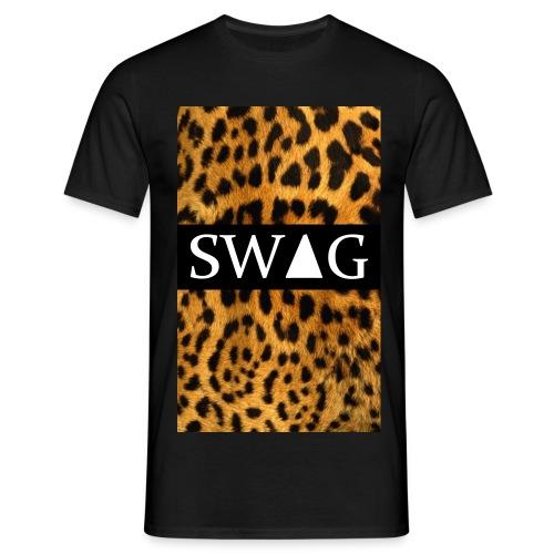 T-Shirt mannen panter swag - Mannen T-shirt