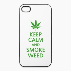 keep calm and smoke weed Phone & Tablet Cases