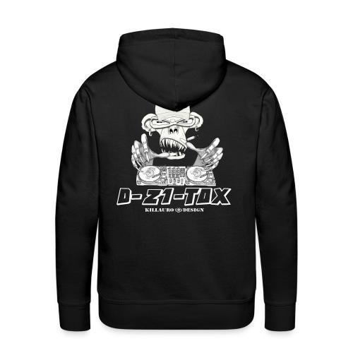 TS D-Z1-TOX 2 - Sweat-shirt à capuche Premium pour hommes