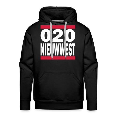 Nieuw West - 020 Hoodie - Mannen Premium hoodie