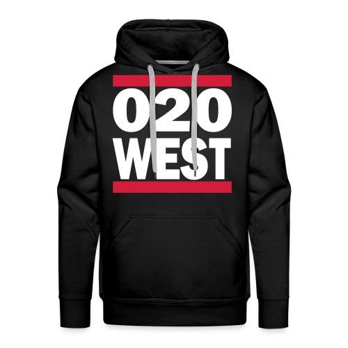 West - 020 Hoodie - Mannen Premium hoodie