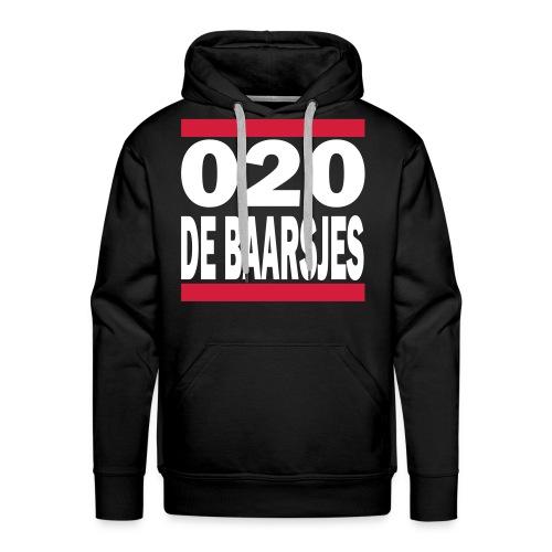 Baarsjes - 020 Hoodie - Mannen Premium hoodie