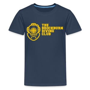Brockburn Diving Club - Teenage Premium T-Shirt