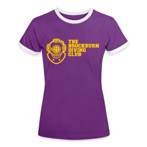 Brockburn Diving Club - Women's Ringer T-Shirt