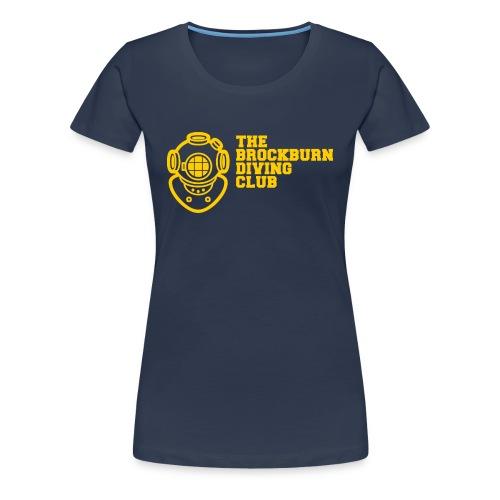 Brockburn Diving Club - Women's Premium T-Shirt