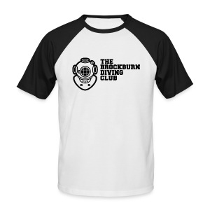 Brockburn Diving Club - Men's Baseball T-Shirt