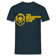T-Shirts ~ Men's T-Shirt ~ Brockburn Diving Club