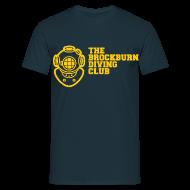 T-Shirts ~ Men's T-Shirt ~ Brockburn Diving Club