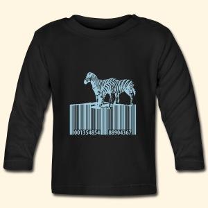 Baby LangarnShirt - Barcode Zebras - Baby Langarmshirt