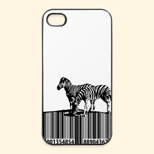 iPhone 4/4S Hard Case - Barcode Zebras - iPhone 4/4s Hard Case
