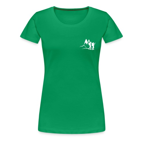 Hikaholics dames shirt - Vrouwen Premium T-shirt
