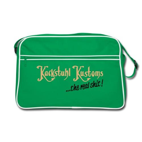 Retro Tasche Kackstuhl Kustoms - Retro Tasche