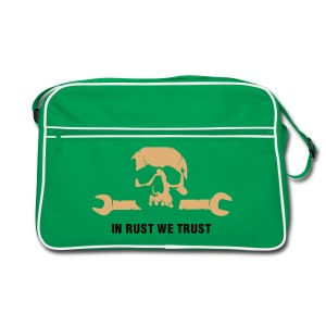 Retro Tasche In rust we trust - Retro Tasche