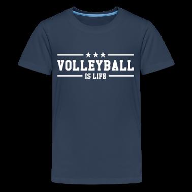 Tee shirt volleyball is life tee shirts spreadshirt for Life is good volleyball t shirt