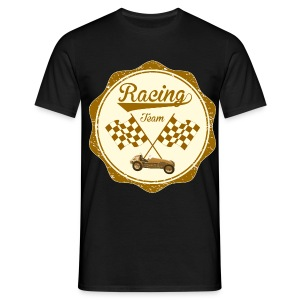Racing team - retro t-shirt - Men's T-Shirt