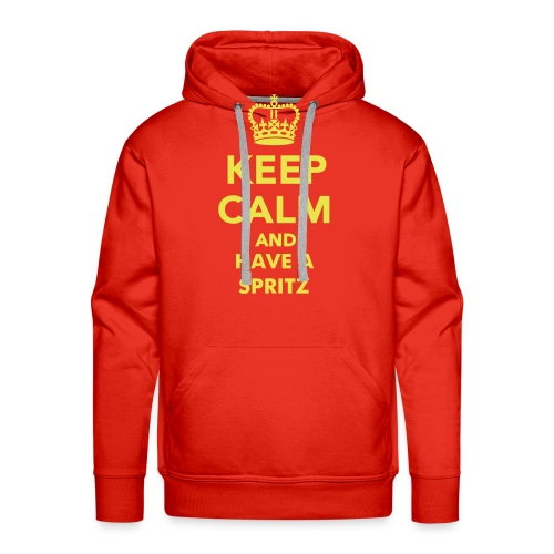 Keep calm... and Have a Spritz - Felpa con cappuccio premium da uomo
