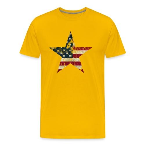 USA Stern - Männer Premium T-Shirt