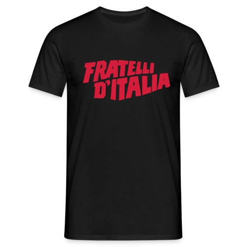 FRATELLI D'ITALIA (1989) - Fan t-shirt commedie anni 90' Boldi De Sica - Maglietta da uomo