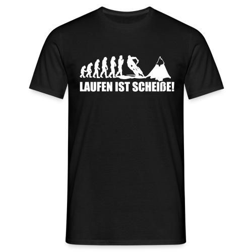 Biker Evolution Ende - Männer T-Shirt