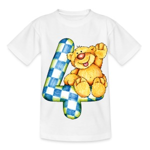 vier - Kinder T-Shirt