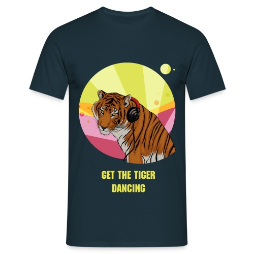 Get the Tiger dancing - Männer T-Shirt