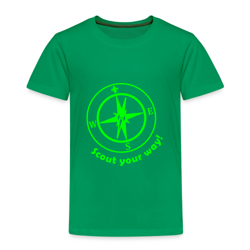 Scout your way - Kids' Premium T-Shirt