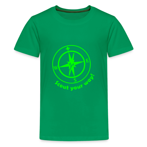 Scout your way - Teenage Premium T-Shirt