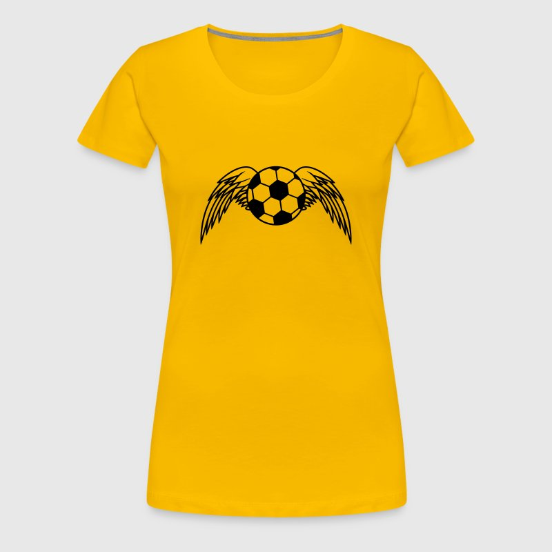 Soccer Ball Angel Wings Design T Shirt Spreadshirt